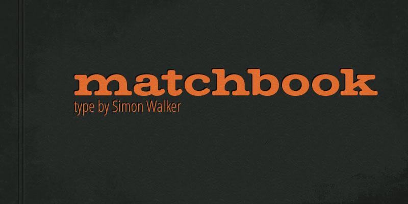 Free Font Friday - Matchbook