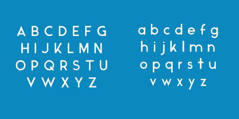 Free Font Friday - Ikaros - Characters