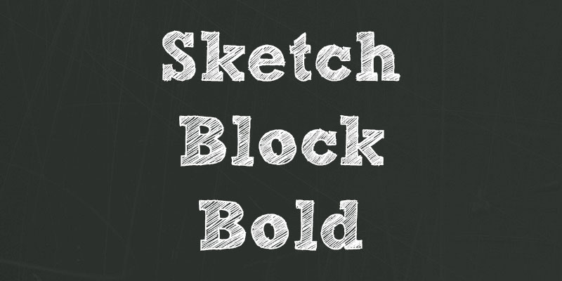 FFF: Sketch Block Bold (featured)